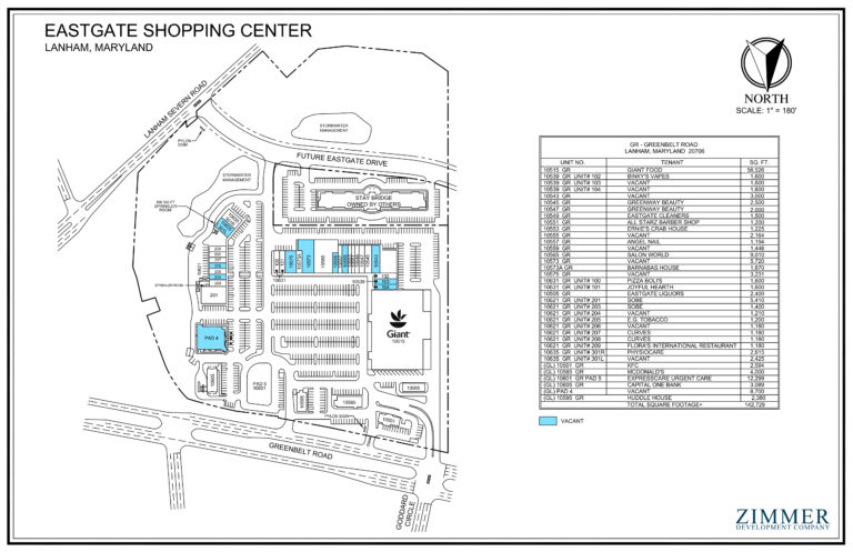 Eastgate Shopping Center | Lanham, Maryland