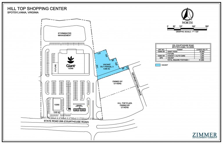 Hill Top Shopping Center | Spotsylvania, Virginia