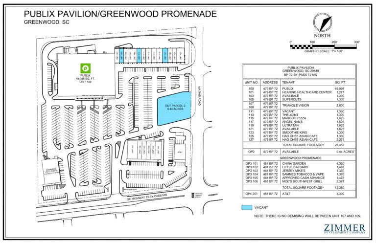 Publix Pavilion | Greenwood, South Carolina