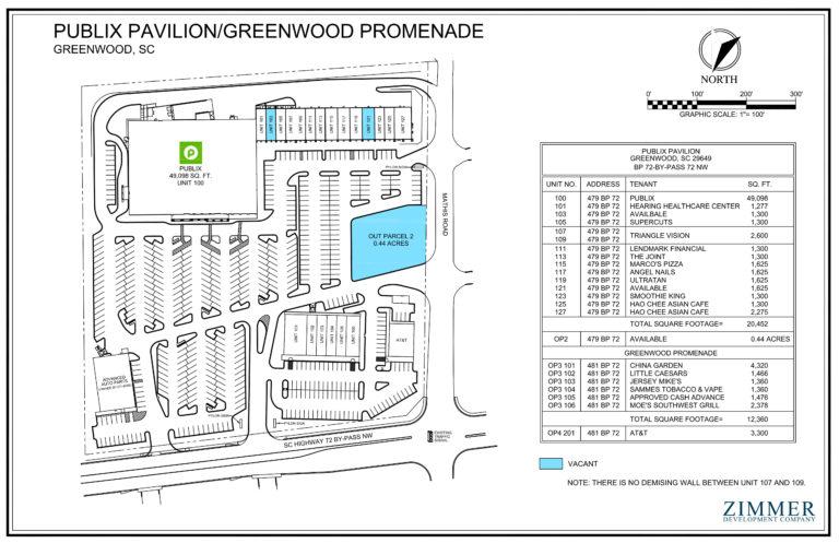 Publix Pavilion   Greenwood, South Carolina